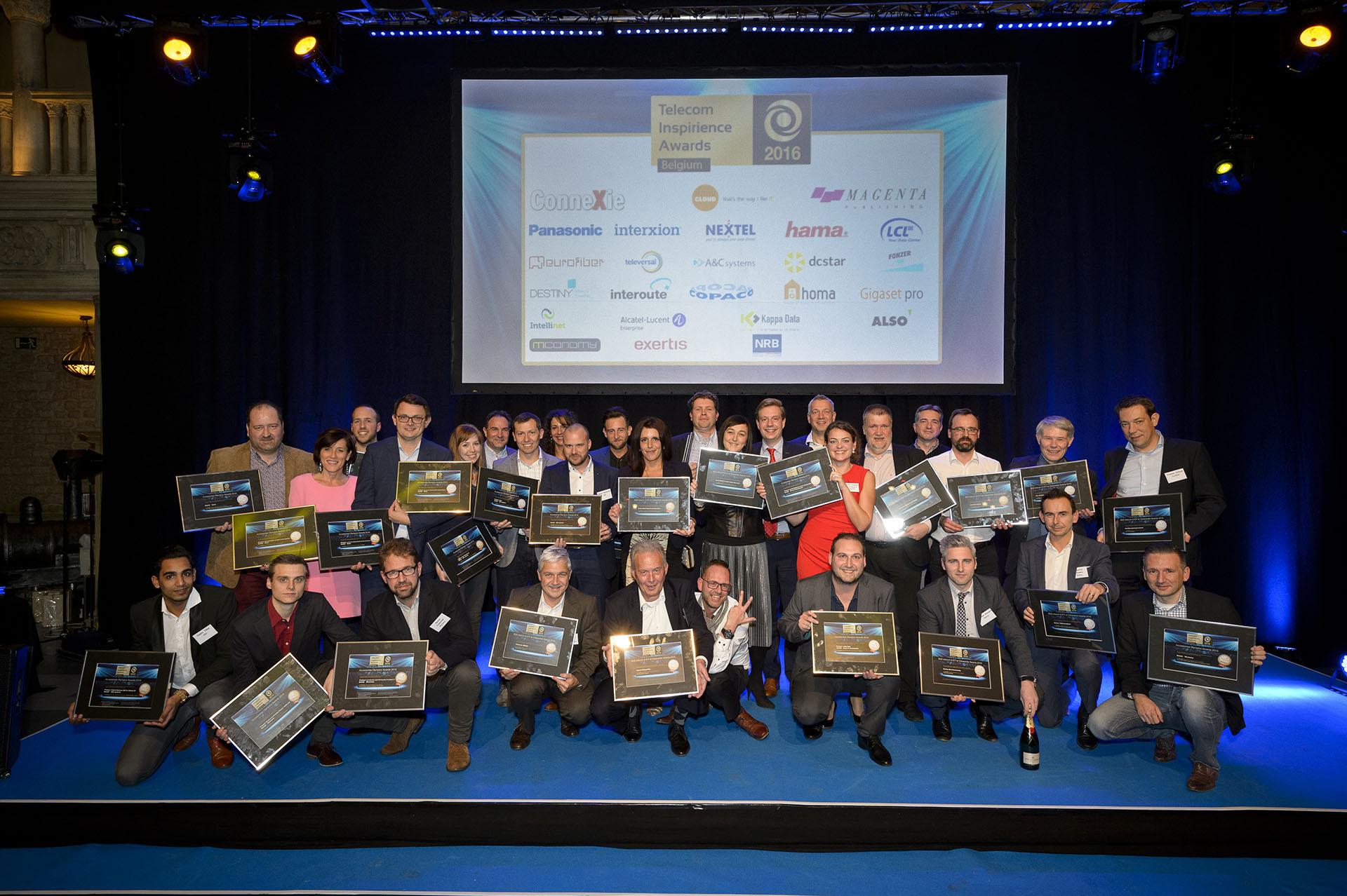 ConneXie reikt opnieuw de Telecom Inspirience Awards uit