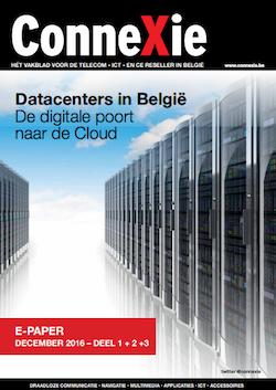 De e-paper 'Datacenters in België' van ConneXie