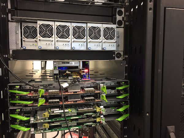 Een OCP rack in Switch AMS1 (bron: Switch Datacenters)
