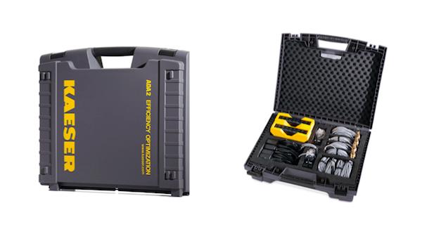De technische servicekoffers van Kaeser Kompressoren (bron: T-Systems)