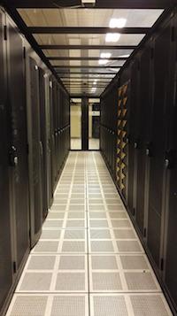 Een datacenter (bron: Pixabay)
