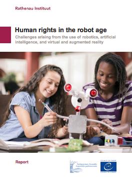 Het rapport 'Mensenrechten in het robottijdperk' van het Rathenau Instituut