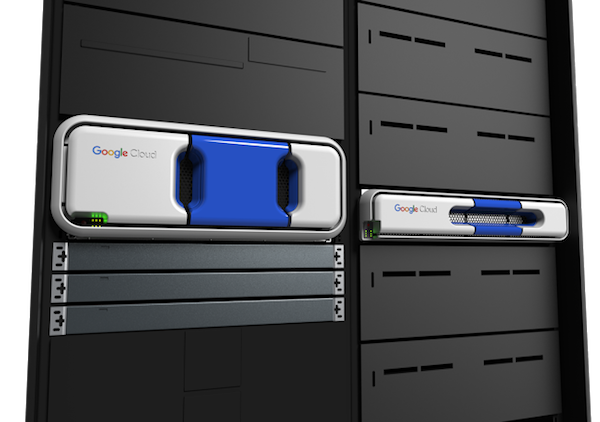 De Google Transfer Appliance (bron: Google)