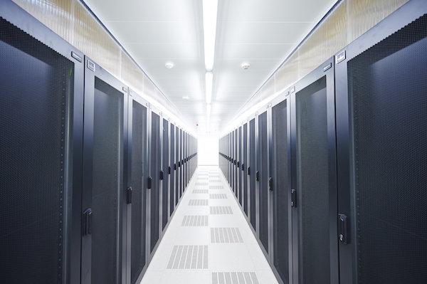 Een datacenter van Sopra Steria (bron: Arcadiz)