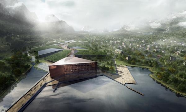 Kolos wil een datacenter bouwen binnen de poolcirkel (bron: Kolos)