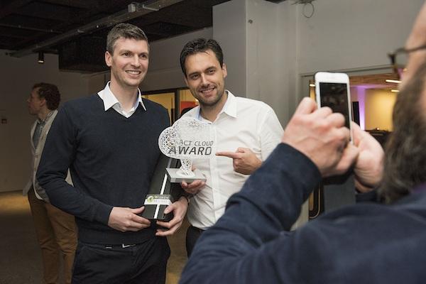Acco Accountants wint de Exact Cloud Award 2017 (bron: Exact)