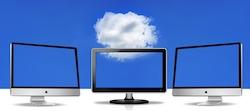 Cloud computing (bron foto: Pixabay / geralt)