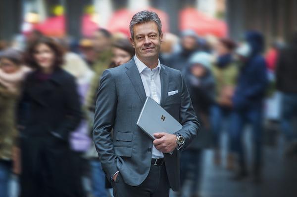 Didier Ongena is General Manager van Microsoft Belgium & Luxemburg