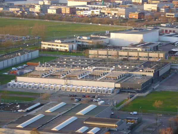 De AMS1 datacentercampus van EvoSwitch (bron foto: EvoSwitch)