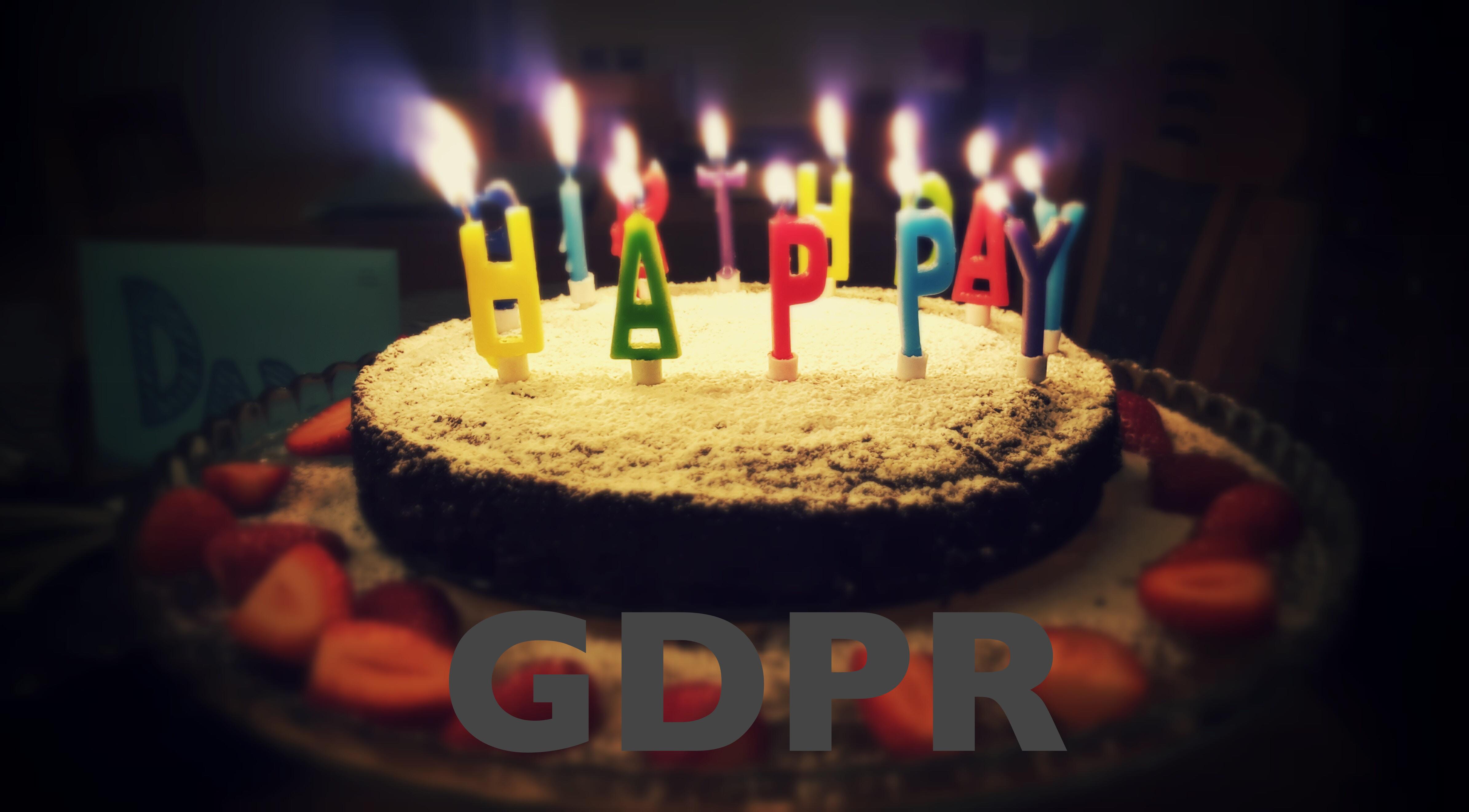 Eerste verjaardag invoering van de GDPR